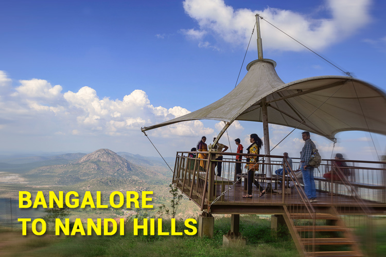 Bangalore to Nandi Hills Cab, Outstation cabs Bangalore